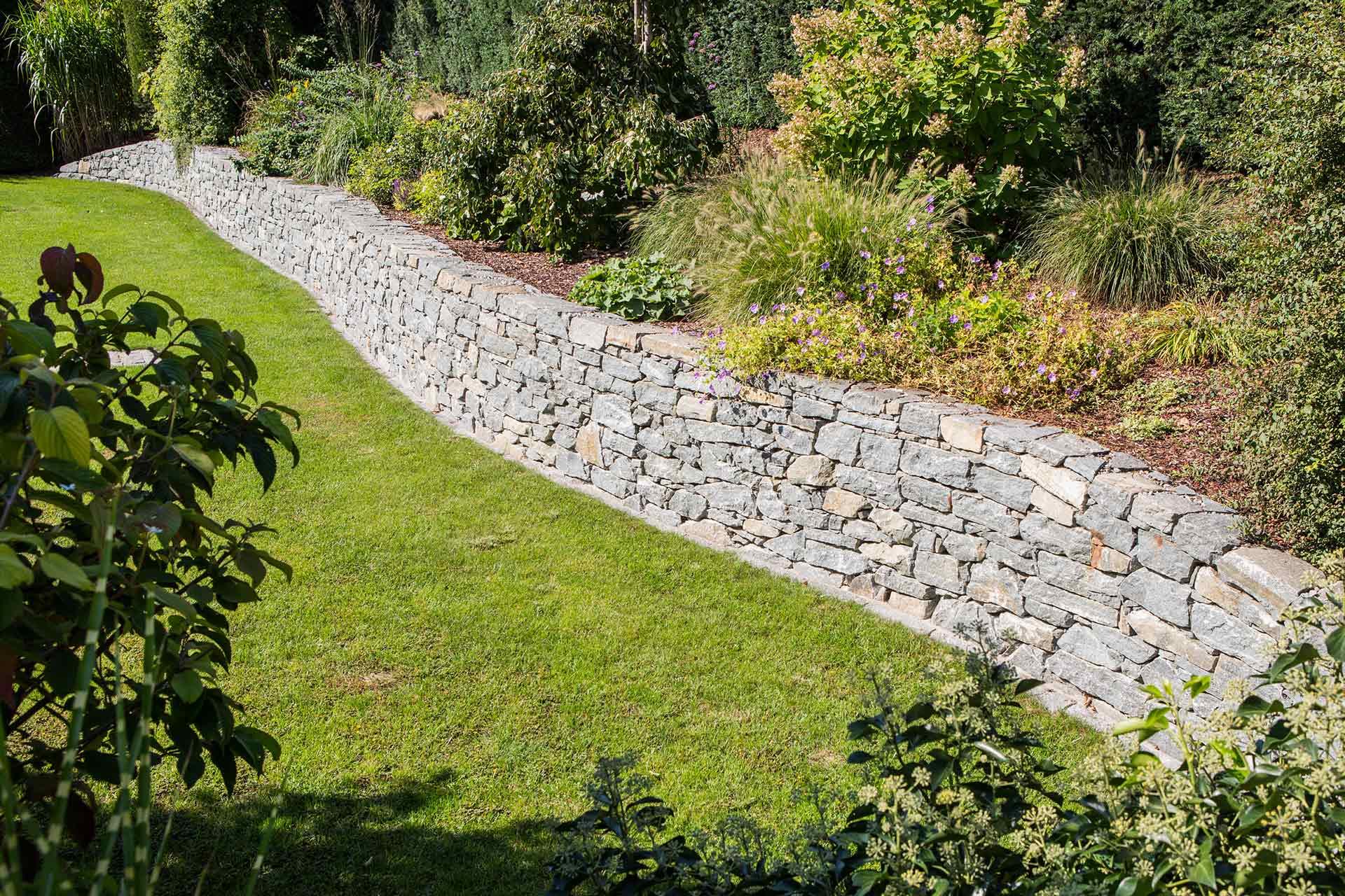 Gartenmauer, Gartenbau, Gartengestaltung, Naturstein, Wachauer Marmor